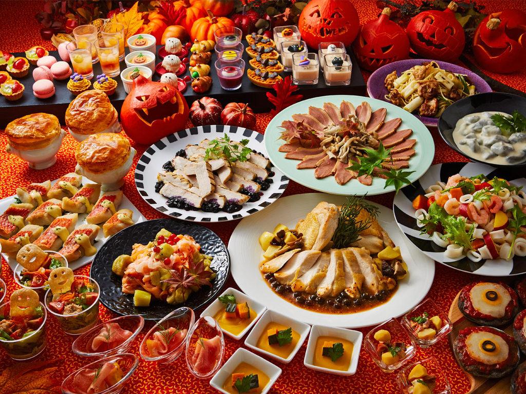 秋の味覚とハロウィーンフェアディナーバイキング(9/8〜11/5まで)
