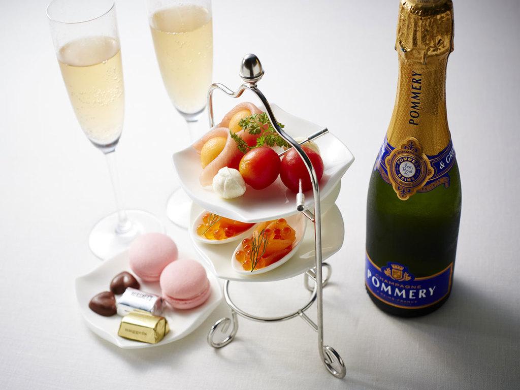 シャンパン&オードブル