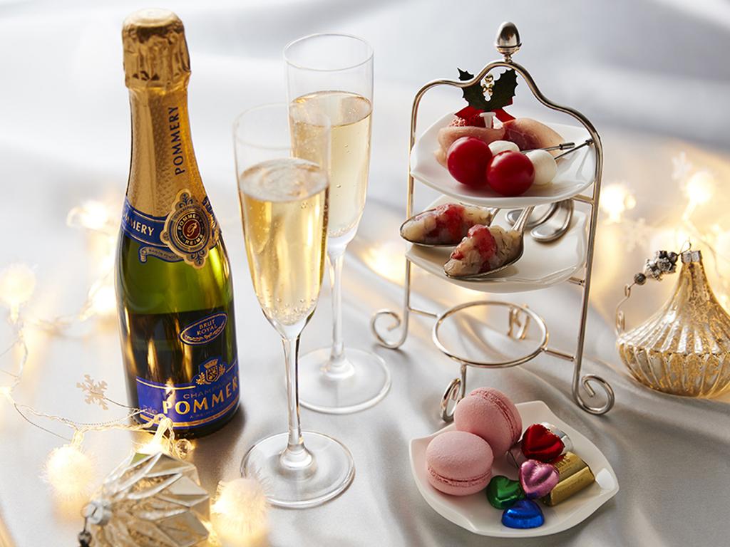 クリスマスオードブル&シャンパン
