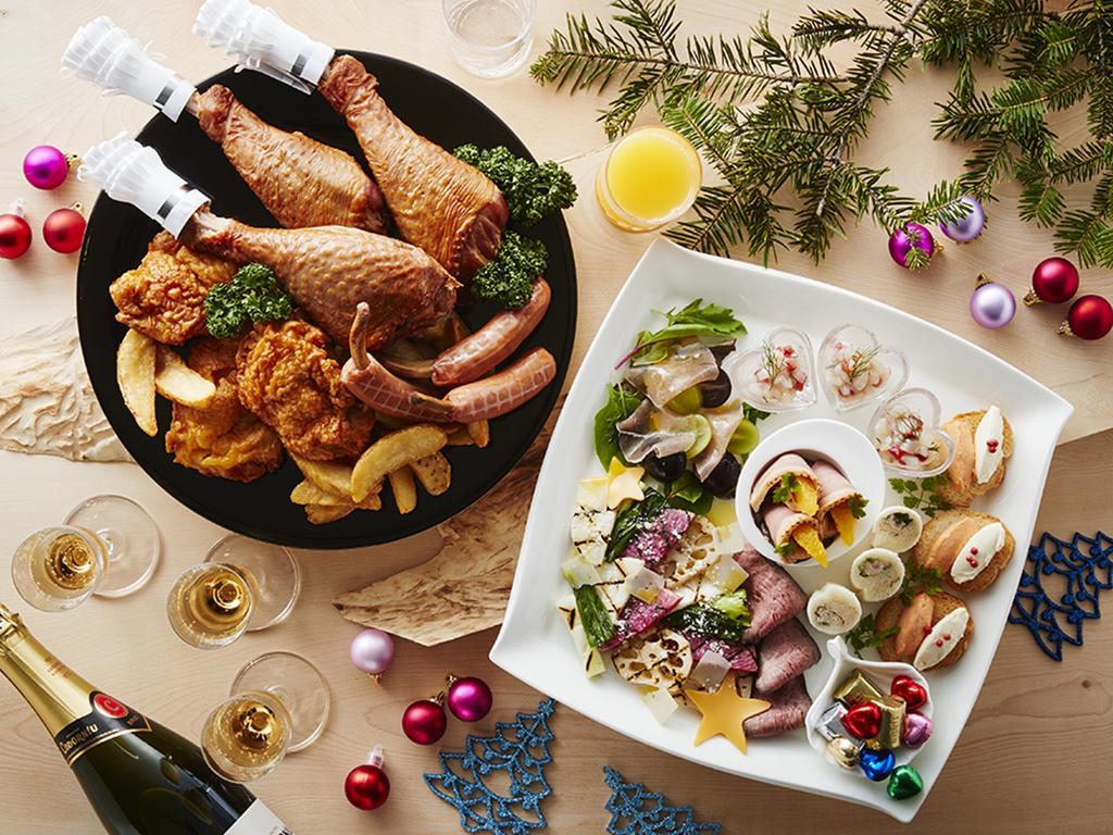 冬のクリスマスパーティーセット&スパーリングワインプラン(※写真はイメージです。)