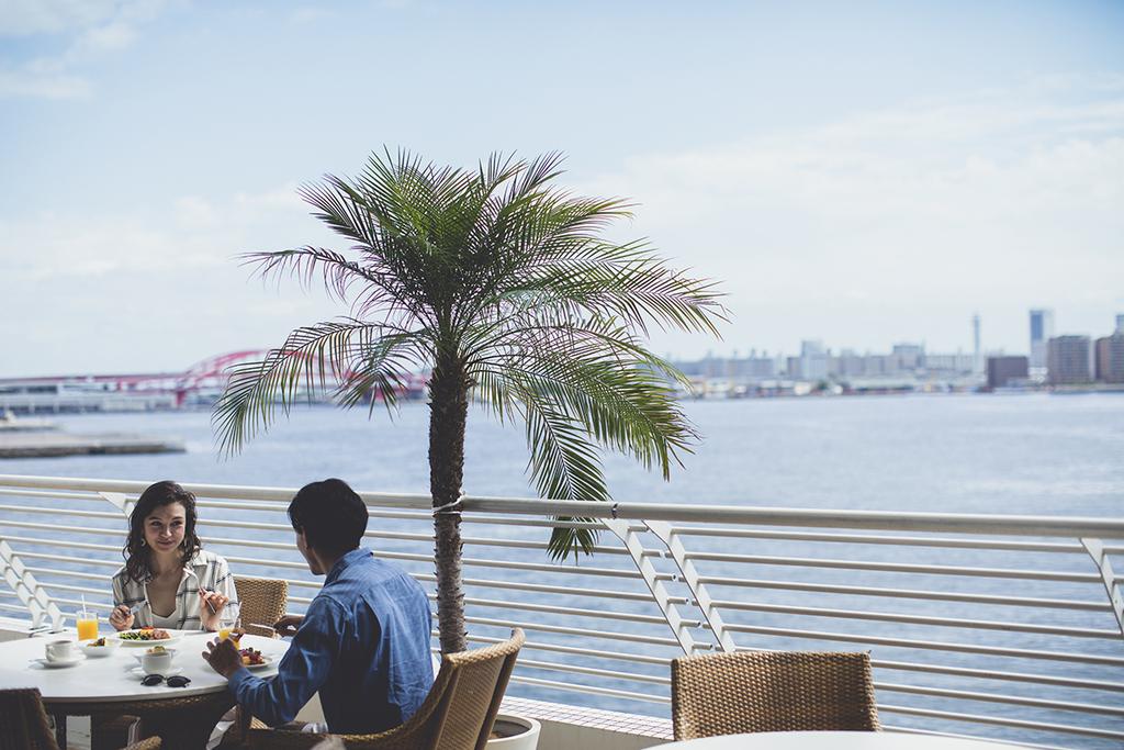 テラスレストラン「サンタモニカの風」