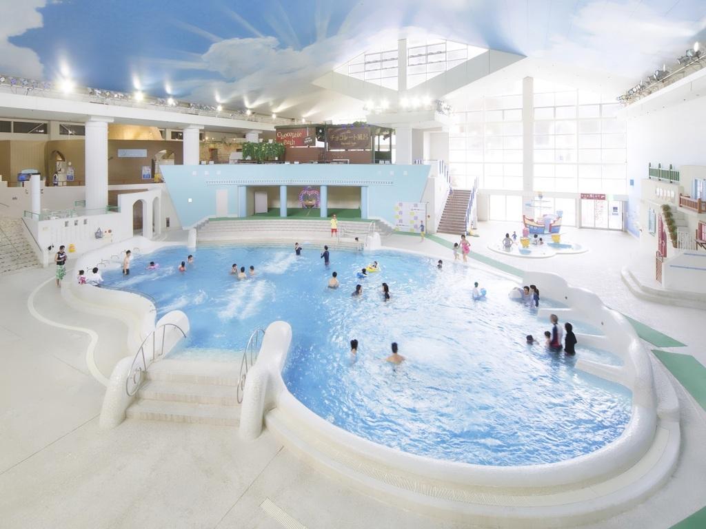 ユネッサン1日パスポート付き♪プールと温泉を楽しもう!