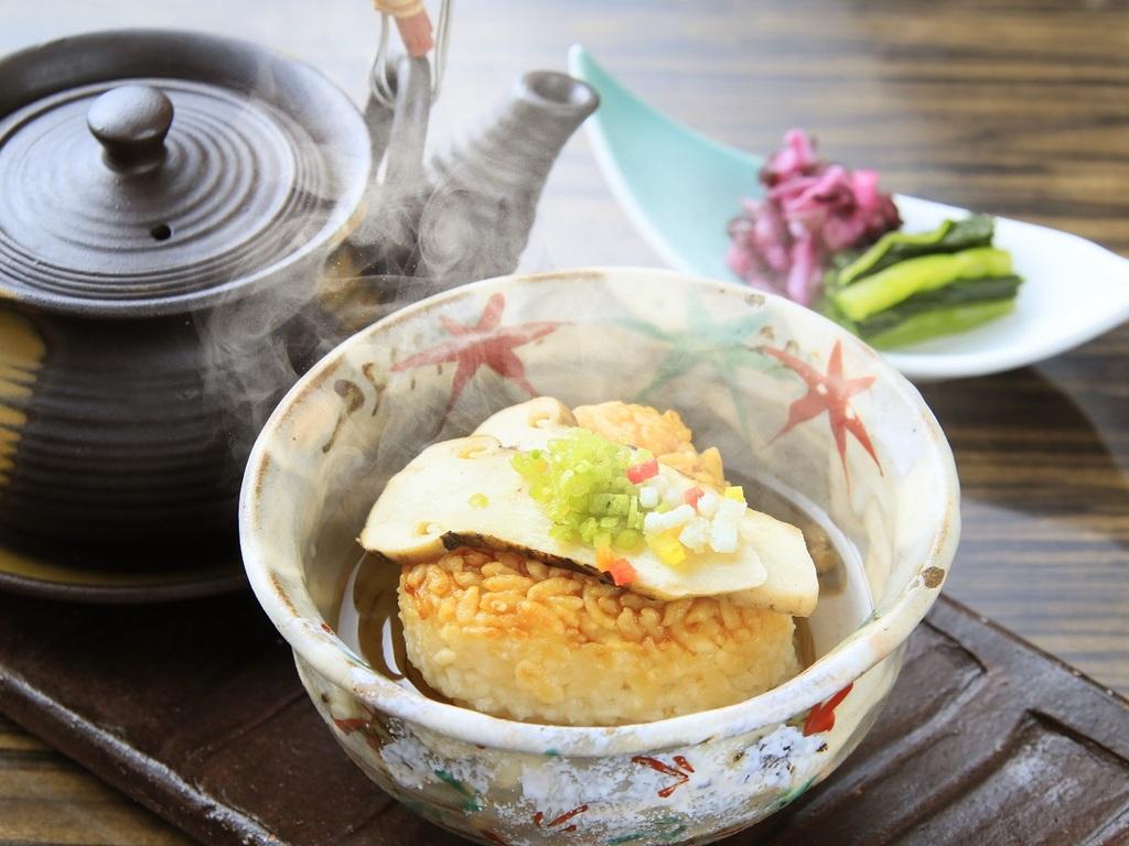 特選コース【黄金の出汁と松茸香るお食事】イメージ