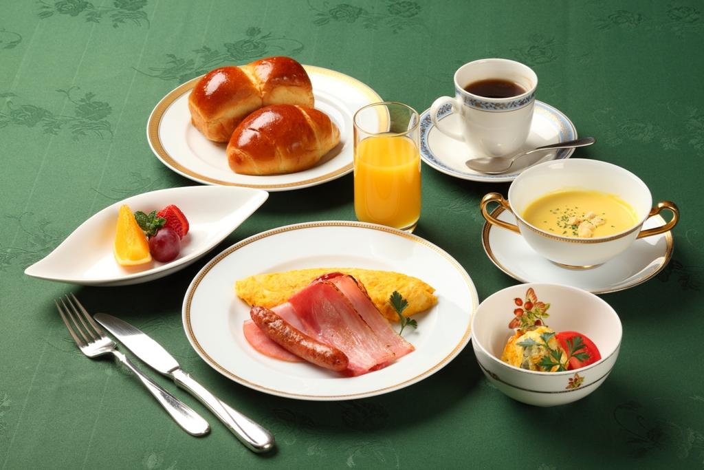ご朝食一例<洋食>