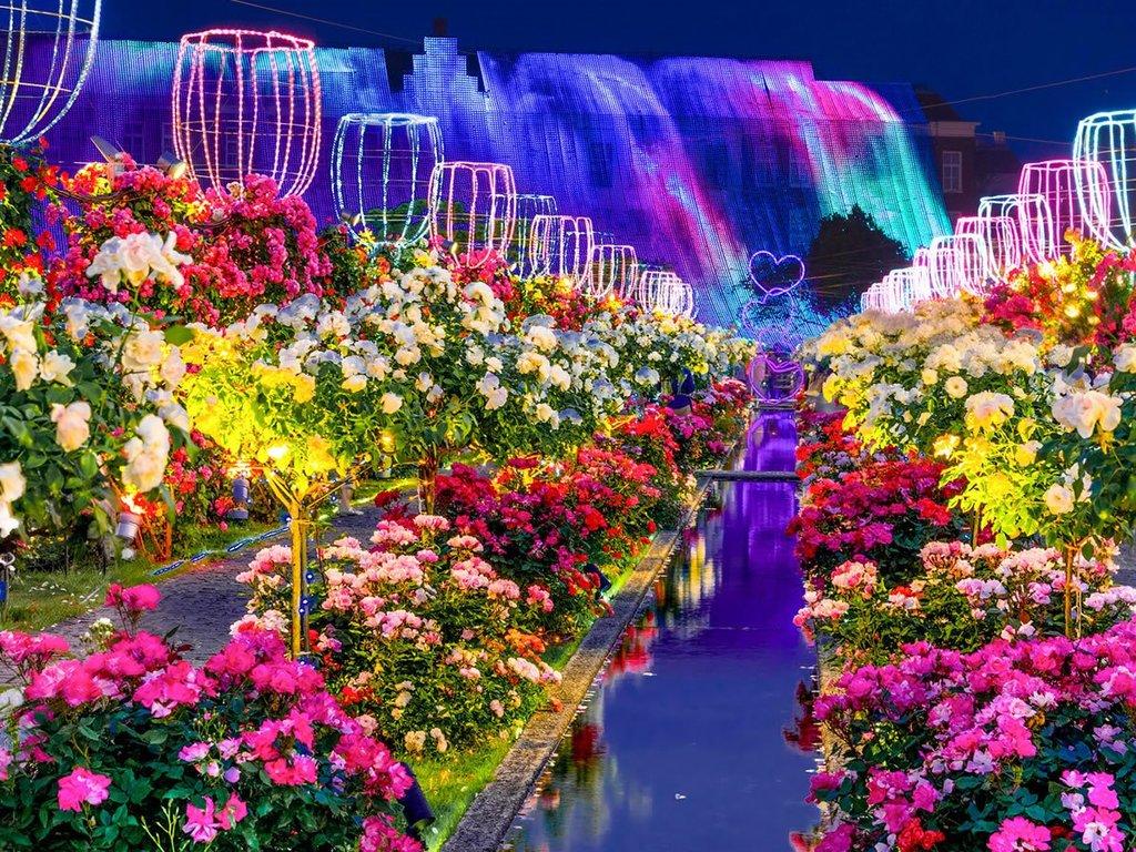 花と光の王国『ハウステンボス』
