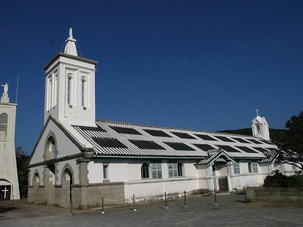 世界遺産:出津教会堂(当館から車で約35分)