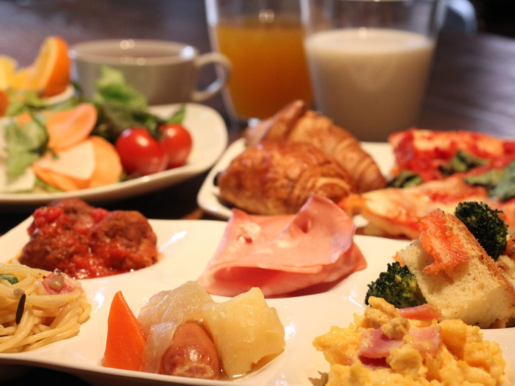 [サルヴァトーレ・クオモ] 朝食