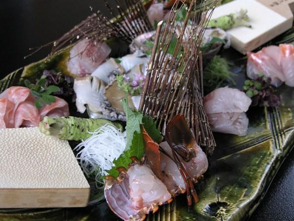 黒潮海鮮盛り(伊勢エビ・アワビ・金目鯛・地魚)