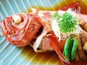 【伊豆名物金目鯛の煮つけをお土産に!】