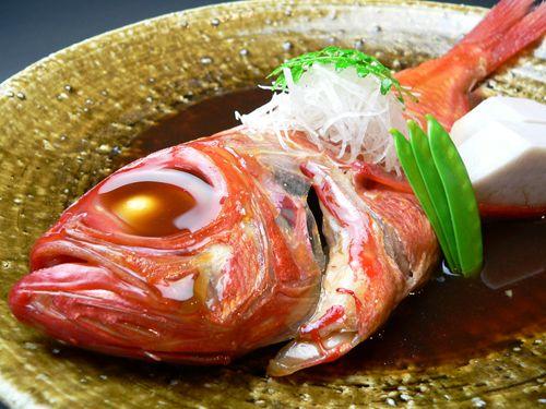 金目鯛煮付け