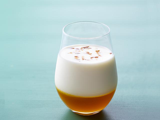 特製カクテル「パンプキンミルク」