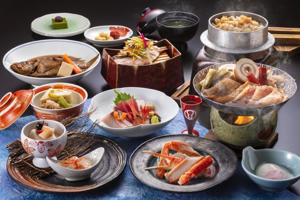 鍋を中心に、北海道の味覚を楽しみください【イメージ】