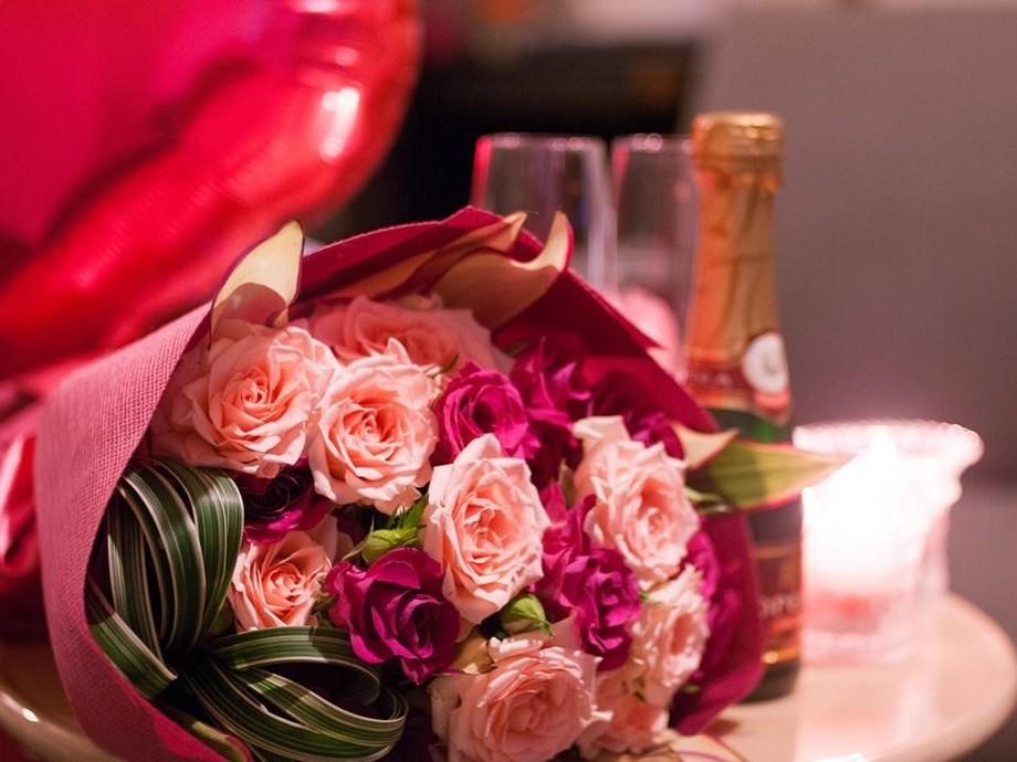 花束でプロポーズを!