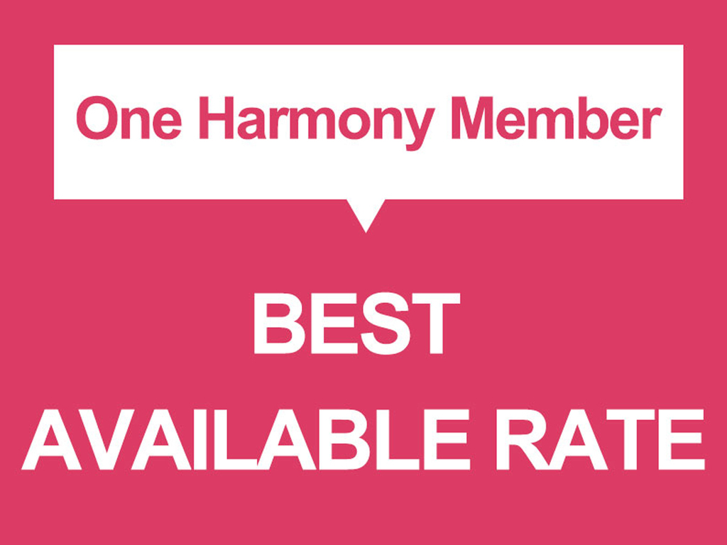 A Stay plan exclusive to the members of One Harmony