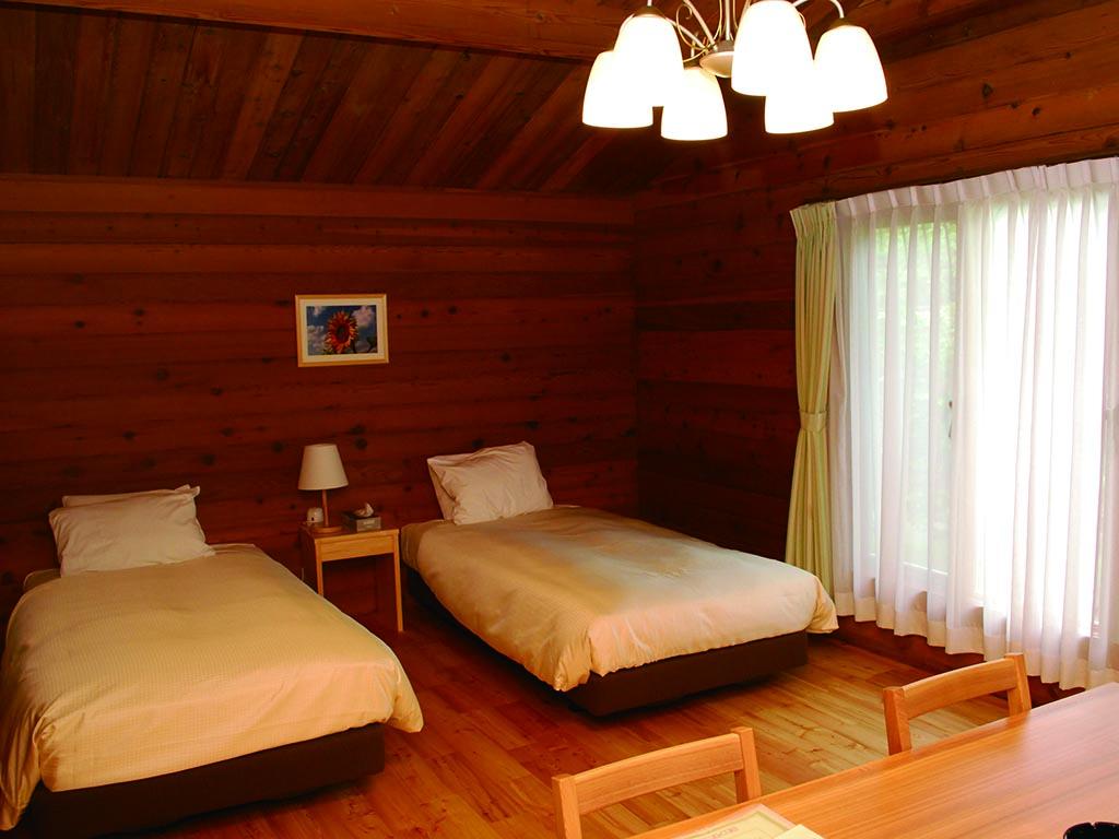 リゾートコテージ ベッドルーム