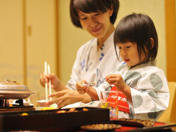 【夕食 お部屋食】お部屋でゆっくり家族だけのご夕食を・・・