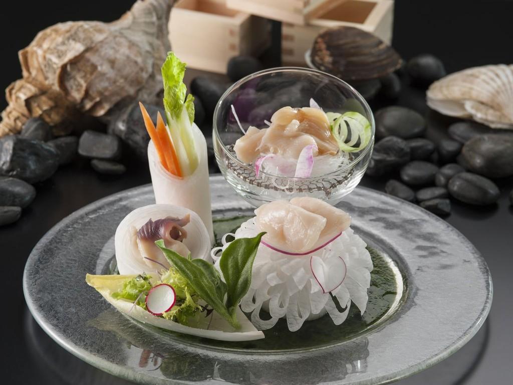 【恋するレシピ・夏】貝刺身3種