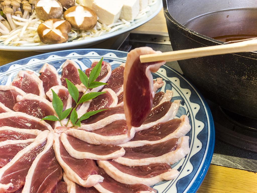 【夕食】鴨鍋