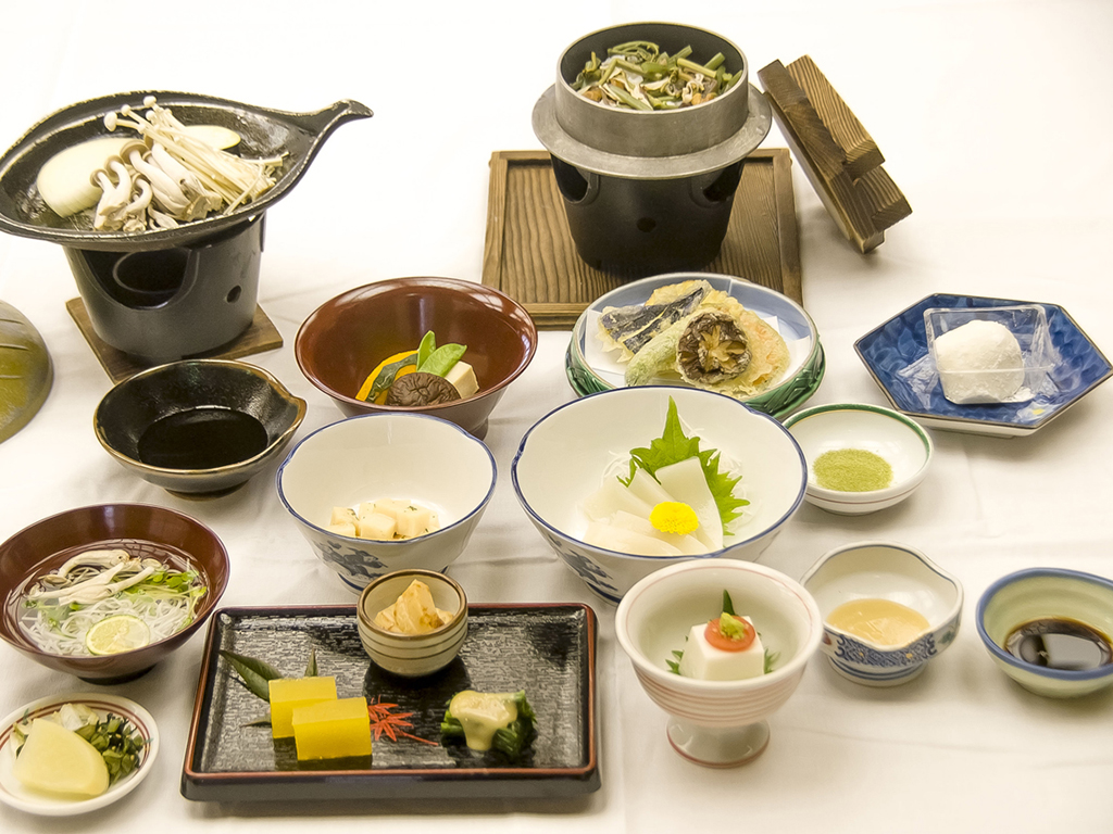 【夕食】精進料理