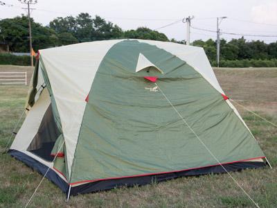ファミリードームテント