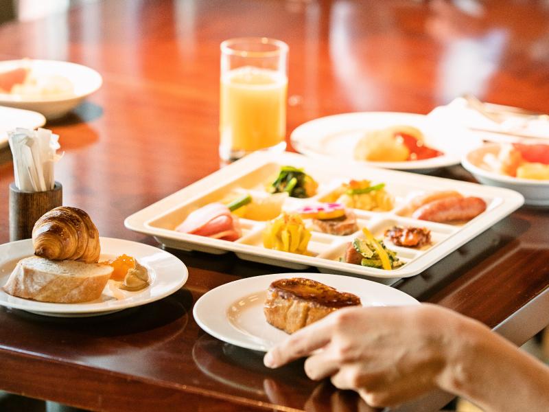 朝食ビュッフェ(イメージ画像)