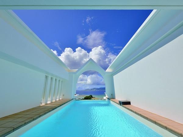 ロイヤルエグゼススイートにご宿泊のお客様専用のプライベートプールです。