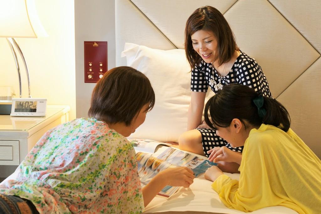 女の子同士、気楽に愉しむリゾートステイはいかがでしょうか?
