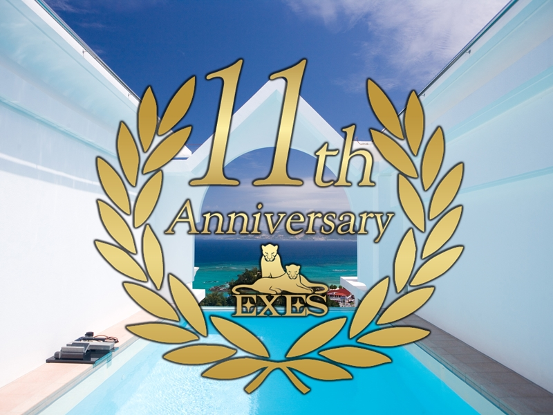 Okinawa Spa Resort EXESは11周年を迎えます。