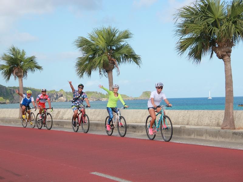 恩納村から宜野座(ぎのざ)村までのサイクリングツアー