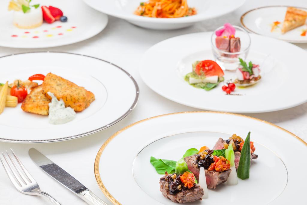 洋食「ポルテコース」カジュアルなイタリアンをイメージしたコース