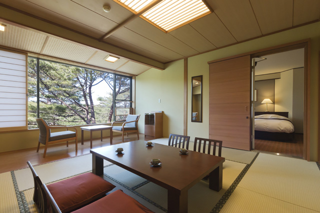松林側コネクティングルーム イメージ