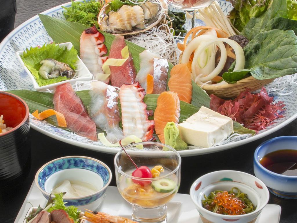 旬の味覚をもちいた和食膳_イメージ