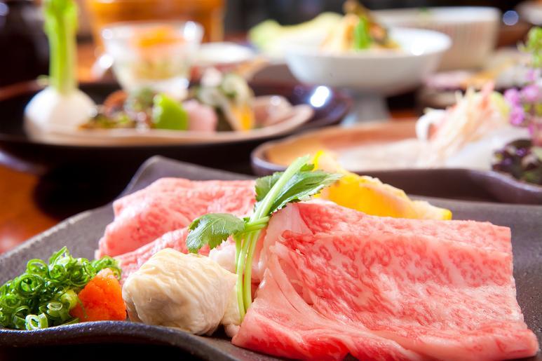 豊後牛がメインの懐石料理