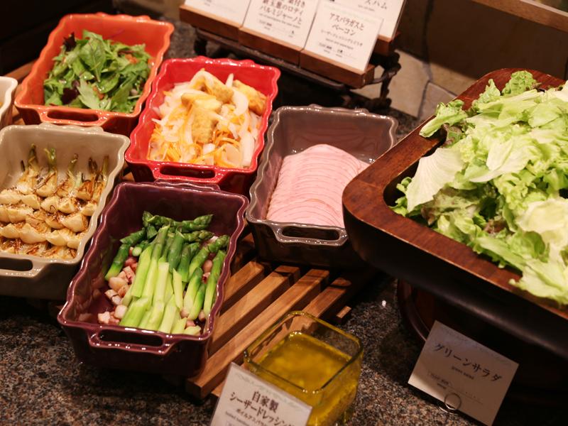 ホテルピエナ神戸の野菜は野菜ソムリエが激選