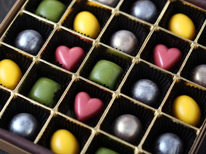 ショコラヴァンセンクアソート(25粒ショコラセットの意味)