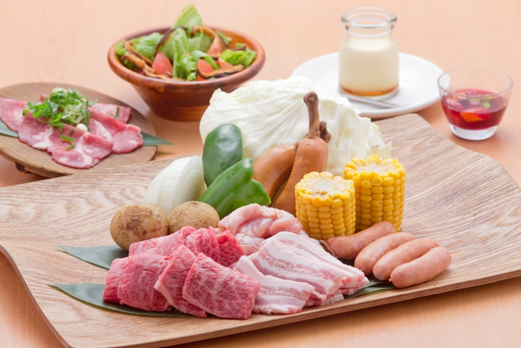 夏限定☆夕食バーベキューセットプラン