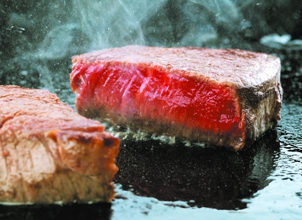福島県産牛ステーキ