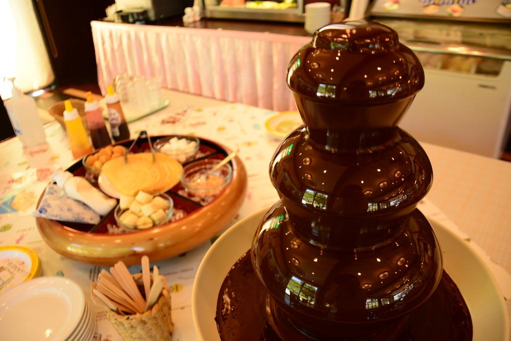 【チョコレートファウンテン】