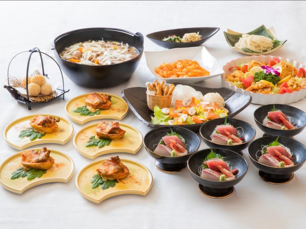 【秋の大皿コース料理】
