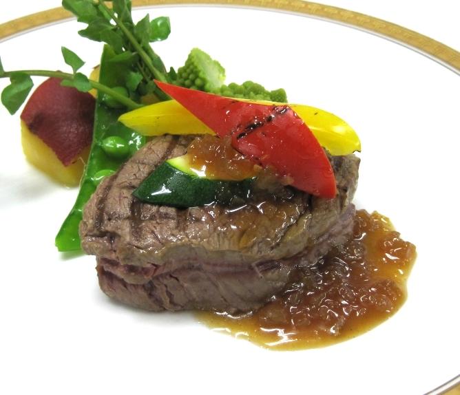 牛ヒレ肉ステーキのイメージ