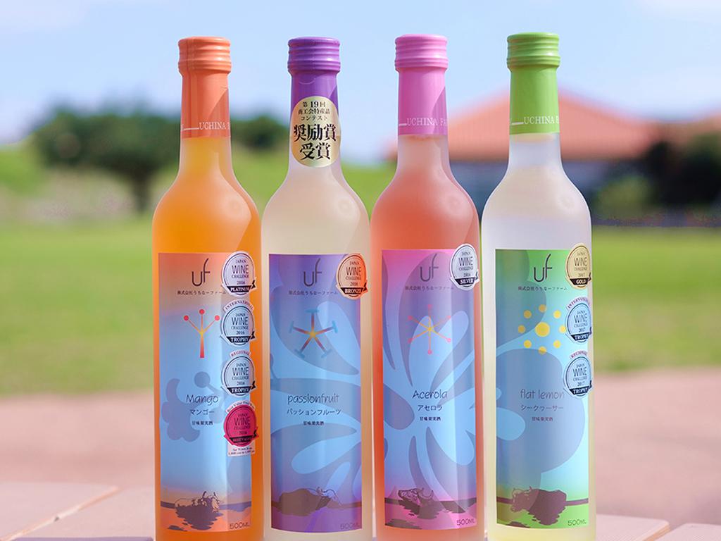県産フルーツ100%使用の糸満産ワイン