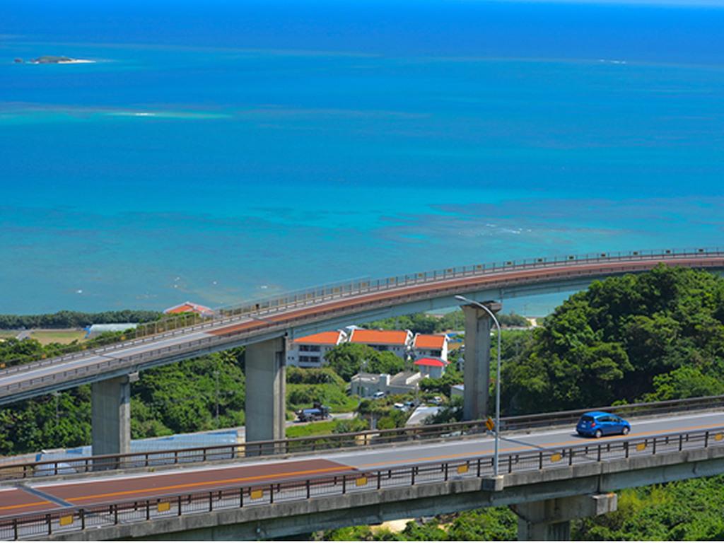 絶景ニライカナイ橋や南部観光地へ好アクセス!