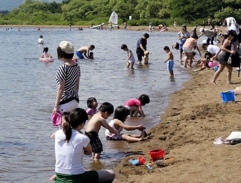 夏の志田浜