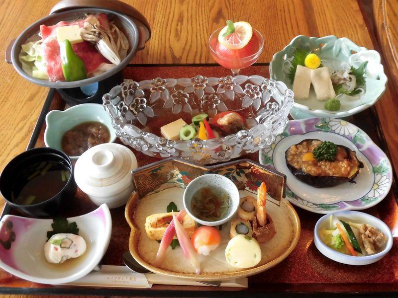 会津の郷土お膳(季節で写真と異なる場合あり)