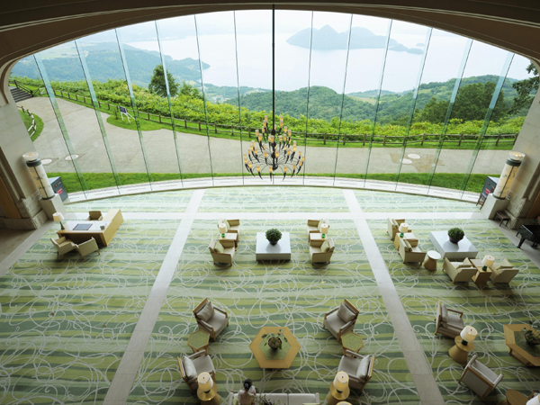 Lake Toya View Main Lobby