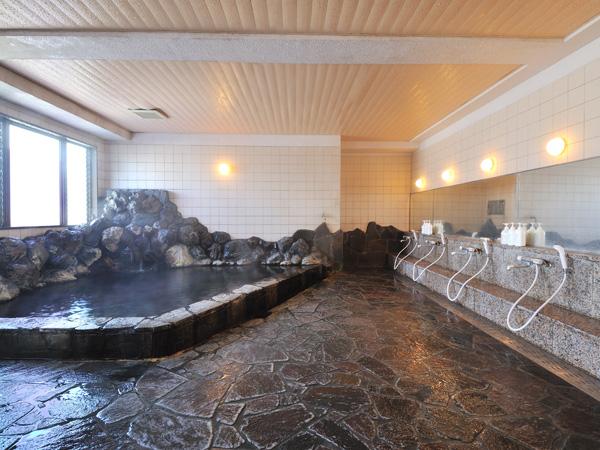 新館アネックス4階 岩風呂