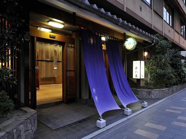 Ryokan(A traditional Japanese style hotel)