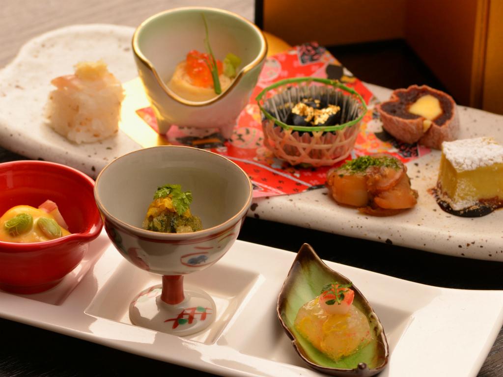 ご夕食のイメージ(前菜9点盛)