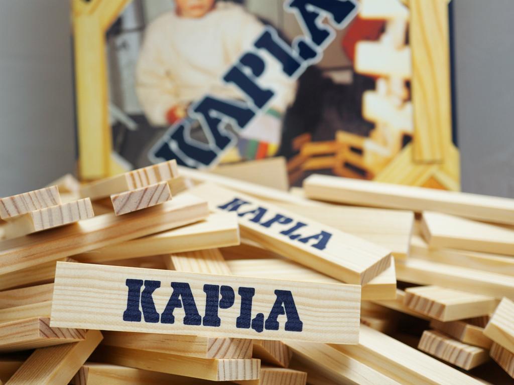 フランス生まれの知育玩具「KAPLAブロック200」