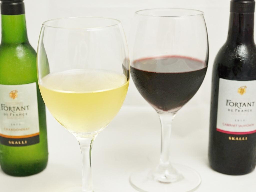 フランスワイン「フォルタン」ベビーボトル